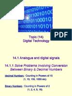 14.1 digital technology