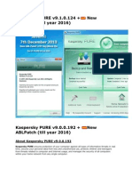 Kaspersky PURE by TSG