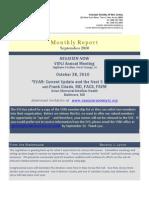 VSNJ Sept Report