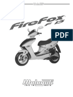 MALAGUTI F15 firefox manual