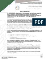 Primer Comunicado Oficial 2020-2021. Becas Benito Juarez