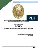 SOHO, 20 Años Explicando Los Secretos Del Sol