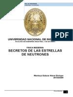 Secretos de Las Estrellas de Neutrones