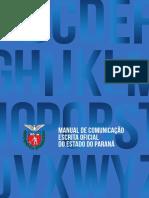 Manual de Comunicação Escrita Oficial do Estado do Paraná