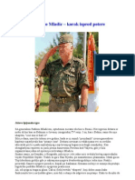 Ratko Mladic-Korak ispred potere
