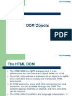 JavaScript Dom Objects