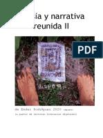 """""""Poesía y Narrativa Reunida de Ender Rodríguez II"""""""