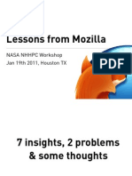 NASA - Lessons From Mozilla