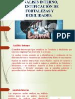 ANÁLISIS INTERNO, IDENTIFICACIÓN DE FORTALEZAS Y DEBILIDADES (1)