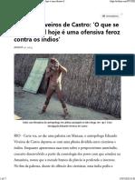 EVC O QURE SE VE NO BR É UMA OFENSIVA ENTREVISTA 2015
