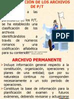 ORGANIZACION DE LOS PAPELES DE TRABAJO
