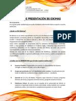 CARTA DE PRESENTACIÓN INGLES