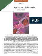 La investigación con células madres
