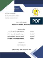 PRIMER AVANCE PROYECTO DE CÁTEDRA DEE