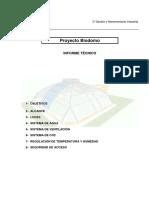 Proyecto Biodomo Informe Técnico