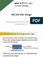 EEE 313-Chapter-4-MOS Logic Design