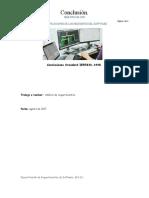 Conclusiones IEEE-STD-830-1998
