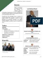 Luis Bedoya Reyes - Wikipedia, la enciclopedia libre