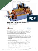 (89) MOTORES - REGIMES SERVIÇO E DE FUNCIONAMENTO _ LinkedIn