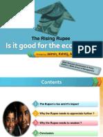 Rupee Apprecitation and its impact