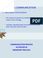 COMMUNICATION nursing 1