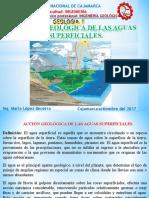 CAP III ACCIÓN GEOLÓGICA DE AGUAS SUPERFICIALES--