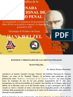Homenaje Al Profesor de Bonn - Hans Welzel