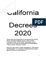 California Decrees Booklet Form with and without Scriptures Feb 15, 2020 .docx