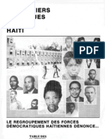 PRISONNIERS POLITIQUES EN HAITI
