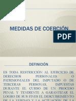 MEDIDAS DE COERCIÓN 29 agosto 2020