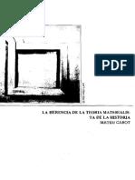 Teoría materialista de la Hª - Mateu Cabot