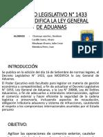 DECRETO LEGISLATIVO N° 1433 QUE MODIFICA LA LEY GENERAL DE ADUANAS.pdf