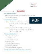 15 Evaluation  PR1  SQ1  Sé9  3°AP