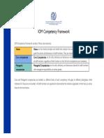 IOM Competencies Framework
