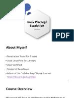 1.3 Linux Privilege Escalation (Light)
