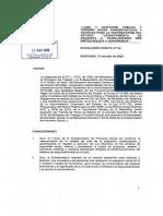 Res.exenta 64 Llama a Licitación Pública y Aprueba Bases Administ