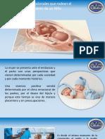 Factores Psicologicos durante el embarazo