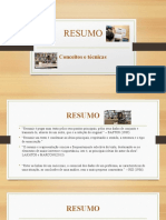 RESUMO Slides Online 2 S