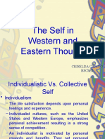 The Self in Western and Eastern Thought
