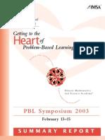 Didactica psichologiei symposium PBL 2003proceedings