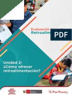 La Retroalimentacion en La Evaluacion Formativa Unidad 2 Ccesa007