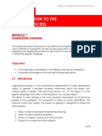 B111L Engineering Drawing and Plans - MODULE 1