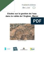 Rapport Gestion de LEau Vallée de LArghen Dec 2018