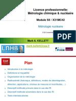métrologie nucléaire 2018-19