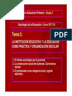 TEMA 5_Soc. Educación_2017-18