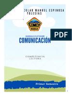 Cuadernillo comunicación