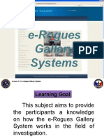 2.13 e-Rogue Gallery System