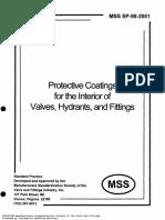 036-MSS SP 98 (2001) Internal Coatings