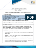 Activity Guide and Evaluation Rubric - Unit 1 - Phase 2 - Strategic Diagnosis