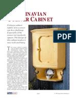 Scandanavian Cabinet PLANS
